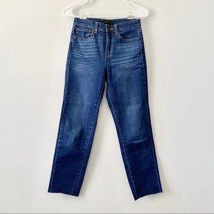 UNIQLO Cigarette High-Rise Straight Leg Jean